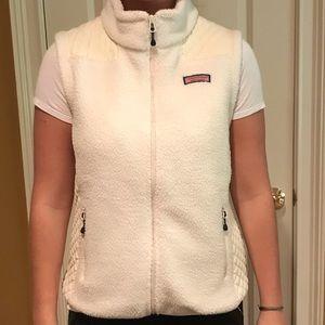 white and cream VV vest!